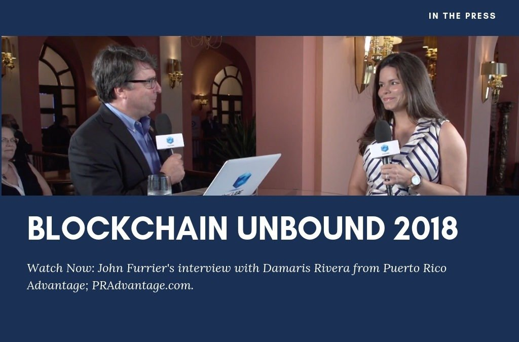 Blockchain Unbound 2018 Interview with Damaris Rivera